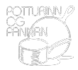 Potturinn & Pannan Logo